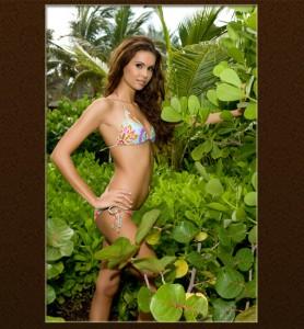 Budai Zsuzsi bikiniben