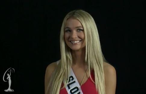 Anna Amenova, Miss Universe Szlovákia