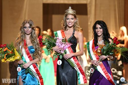 Miss Hungary - Első három helyezett