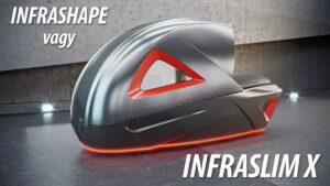 InfraShape Horizontal gép